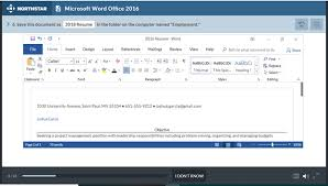 microsoft word assessment re calibrating the north star digital literacy assessment 2 0