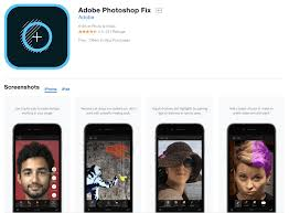 adobe photo fix photo editing app