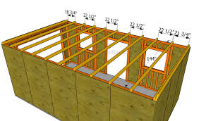 how to build a garage roof fitting the bottom rafters how roof35