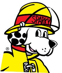 sparky the fire dog. sparky the fire dog sparky the fire dog p