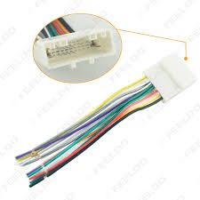 nissan stereo wiring promotion shop for promotional nissan stereo 12pin car audio stereo wiring harness adapter for nissan subaru infiniti install aftermarket cd dvd stereo fd 4241