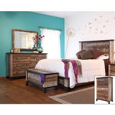 turquoise bedroom furniture. International Furniture Direct Antique IFD966 7 Pc Queen Panel Bedroom Set ( Bedroom) Turquoise Bedroom Furniture