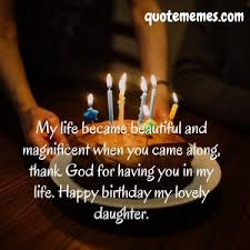 Birthday Wishes For Your Daughter