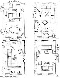 Furniture arrangements for a narrow room Living spaces Pinterest
