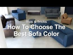 how to choose the best sofa color mf