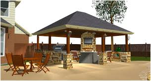 outdoor kitchens and patios designs. backyards: compact covered backyard patio. patio ideas full image for ergonomic detached with outdoor kitchen and fireplace 55 kitchens patios designs