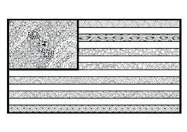 American Flag Coloring Page For Preschool Pages Kindergarten Crayola