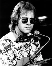 Elton John Art - Elton John 1970 by Chris Walter - elton-john-1970-chris-walter