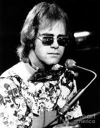 Elton John Art - Elton John 1970 by Chris Walter - elton-john-1970-chris-walter