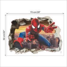 home décor items cartoon spider man