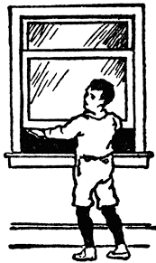 closed window clipart. boy opening window closed clipart d