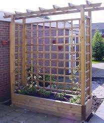 tuin 2m pergola garden planter wooden framed arch planter wooden garden planters