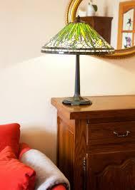 Bed Lamp Daffodil Staande Lamp Gebrandschilderd Glas Lamp Etsy