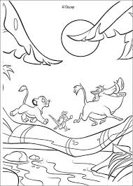 Small Picture Coloring Pages The Lion King