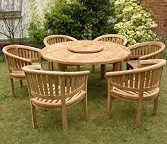 hardwood chairs garden. large teak garden furniture set outdoor wooden table \u0026 chairs hardwood patio dining (direct g