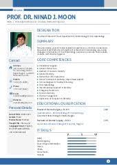 Resume Format For Dentist Freshers Resume Template Sample