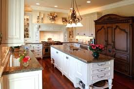 french country kitchen lighting fixtures. Antique Kitchen Lighting Fixtures An Country And French Fusion With A Massive Dark Wood China I