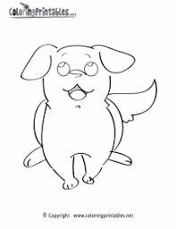 You need to explain them do not go out the lines. Coloring Sheet Cute Puppy Coloring Pages Novocom Top