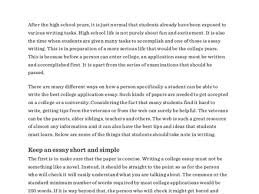 good essays college essay examples good and bad org how to write a good college application essay