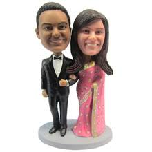 customfest express bobblehead india couple gift wedding