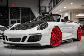 The gts interior package lends the new 911 gts models even greater functional and visual individuality. Used 2017 Porsche 911 Carrera 4 Gts Cabriolet 7 Speed Manual Sport Chrono Carbon Fiber Interior Pkg For Sale Special Pricing Chicago Motor Cars Stock 17710