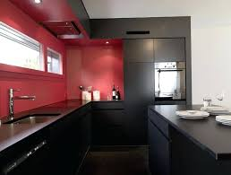 Kitchen Design Ides Interesting Red And Black Kitchen Design Kitchen Cabinets Black And Red Home