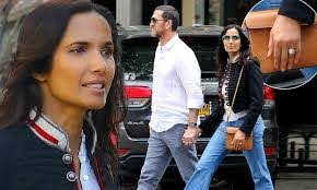 Padma Lakshmi flashes ring on her wedding finger after rekindling romance  with baby daddy Adam Dell | Daily Mail Online