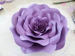 Rose Flower With Paper 2019 Set Large Simulation Cardboard Paper Rose Flowers Showcase