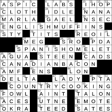 What Circles In A Venn Diagram Do Crossword Clue Luke Webber Author At La Times Crossword Page 83 Of 255