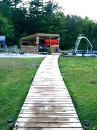 wooden walkway plans wood sidewalk ideas terrific decorating garden path outdoor wooden walkway plans
