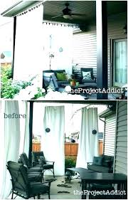 patio door screen curtains decorating outside outdoor screens privacy projects free plan d mesh for pa