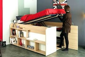 closet under loft bed smart diy