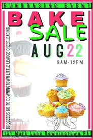 Bake Sale Flyer Templates Free Bake Sale Flyer Freeletter Findby Co Iconic Template Free