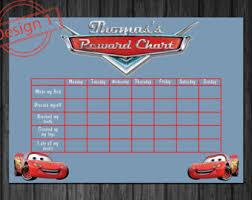 12 Best Photos Of Disney Cars Reward Chart Printable