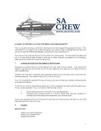 Yacht Captain Resume Sample Collection Of Solutions Boat Crew Resume Examples With Yacht 2