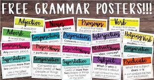 Latin Grammar Charts Pdf Free Classroom Grammar Posters Teacher Thrive