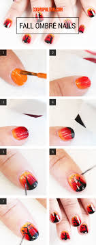 Super Easy Step-By-Step Fall Nail Tutorials - fashionsy.com