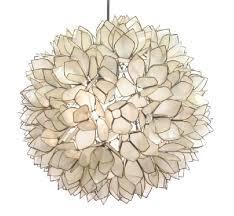 island woods lotus flower chandelier 10 view full size