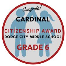 Citizenship Award 6th Grade Goennounce Connect Your