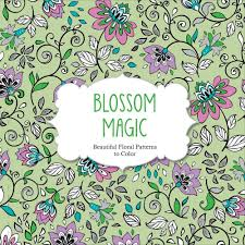 Beautiful Patterns Magnificent Amazon Blossom Magic Beautiful Floral Patterns Coloring Book