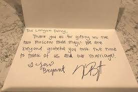 Kris Bryant Is Sending Thank-You Notes To Fans Who Sent Him Wedding ...