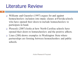 action research proposal ppt video online  literature review