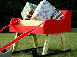 add finishing touches to santa sleigh