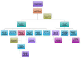 Efficient Production Manufacturing Organizational Chart S