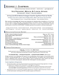 Performance Resume Template New Vp Medical Affairs Sample Resume Executive Resume Writer For Rd