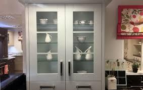 dresser unit glass shelves