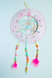 Dream Catcher Party Plates Mesmerizing Dream Catcher Craft For Kids Food Lovin Family