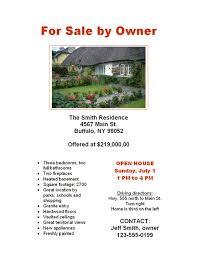 home for sale template flyers ready made office templates