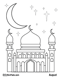 Small Picture ramadan coloring pages for kids 1 Coloring Pages For Kids
