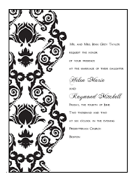 Free Downloadable Wedding Invitation Templates Free Printable Wedding Invitations Templates 42